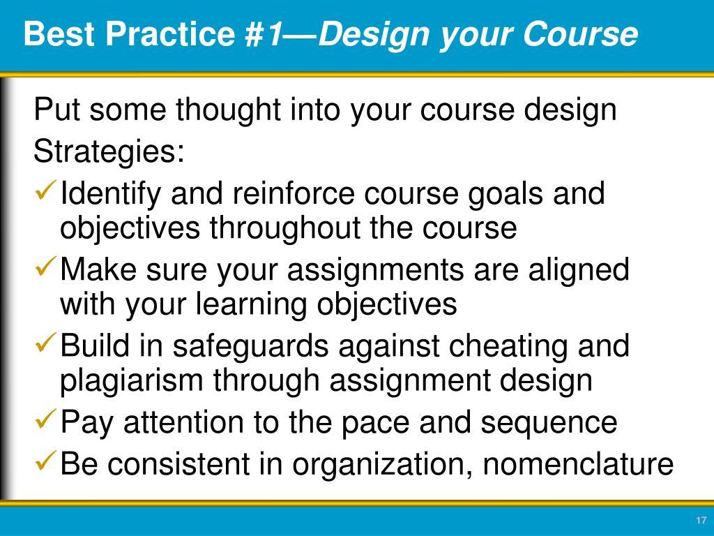 Best Practice #