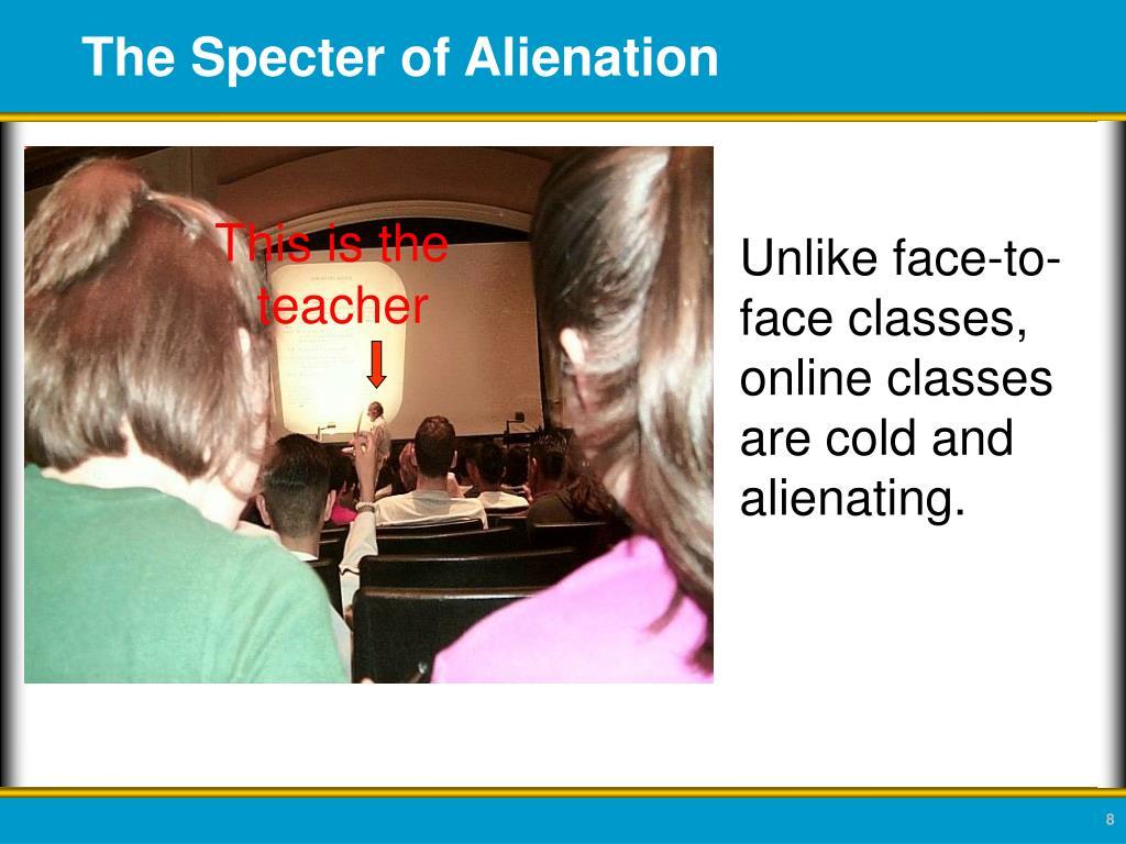 The Specter of Alienation