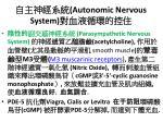 autonomic nervous system31