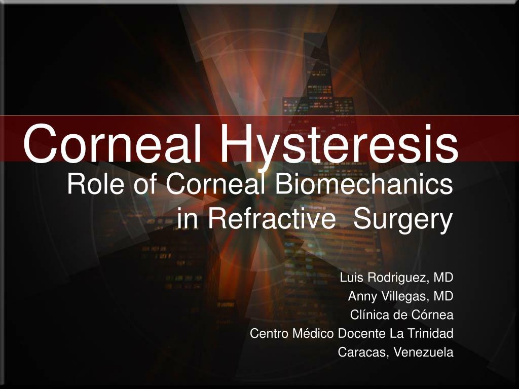 corneal hysteresis l.