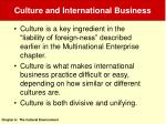 culture and international business5