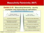 masculinity femininity m f28