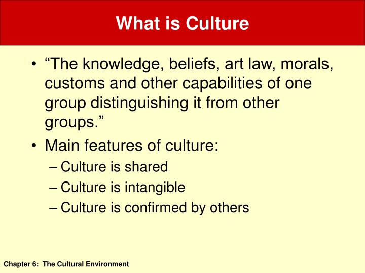 culture is that complex whole which includes knowledge belief art law morals custom and any other ca Culture is that complex whole which includes knowledge, belief, art, morals, law, custom, and any other capabilities and habits acquired by man as a member of society in anthropology (1881) tylor made it clear that culture, so defined, is possessed by man alone.