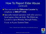 how to report elder abuse continued73