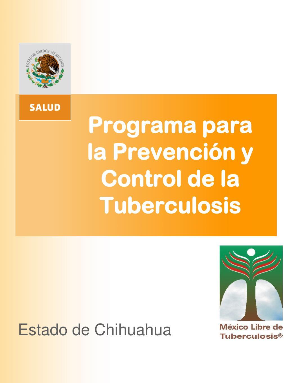 programa para la prevenci n y control de la tuberculosis l.