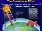 the greenhouse effect18