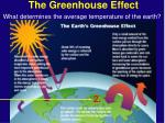 the greenhouse effect19