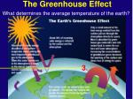 the greenhouse effect20