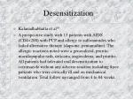 desensitization58