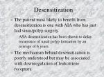 desensitization79