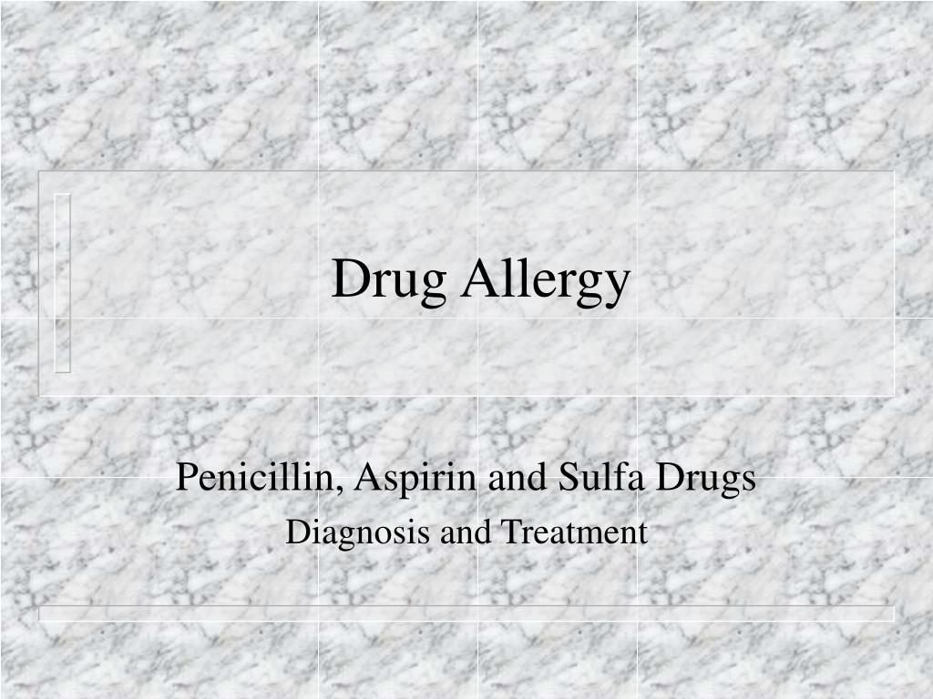 drug allergy l.