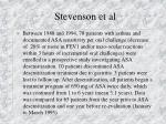 stevenson et al