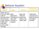 behavior equation31