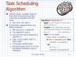 task scheduling algorithm
