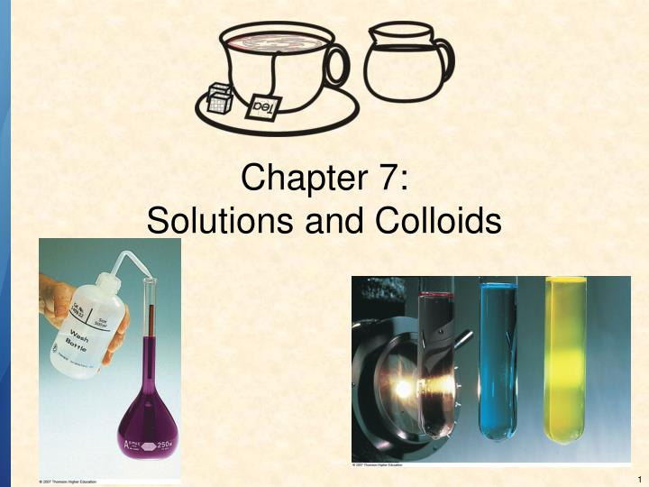 chapter 7 solutions and colloids n.