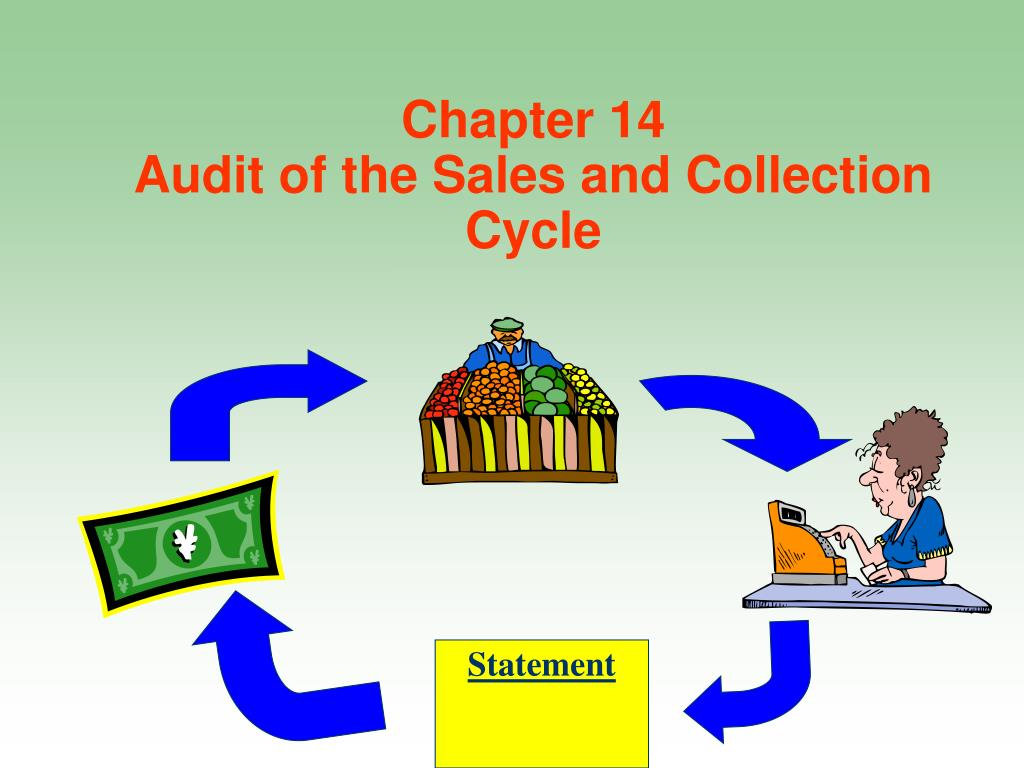 chapter 14 audit of the sales and collection cycle l.