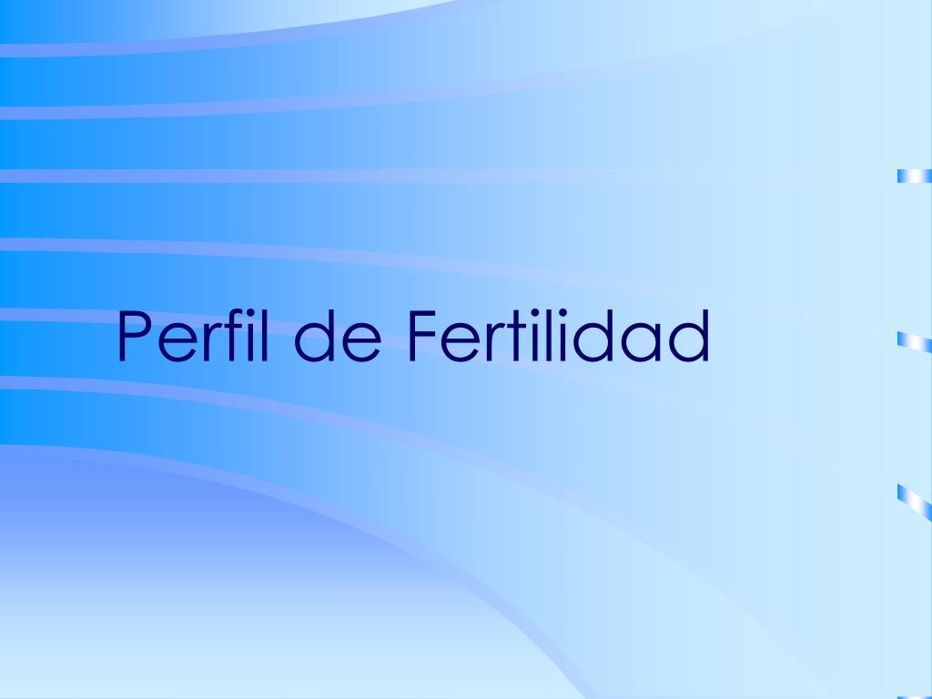 perfil de fertilidad l.