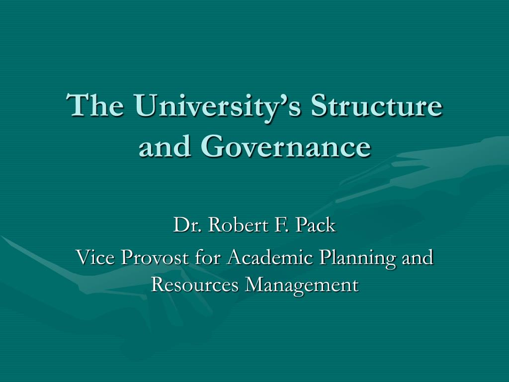 the university s structure and governance l.