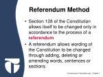 referendum method
