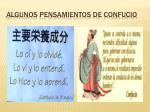 algunos pensamientos de confucio