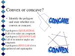convex or concave9
