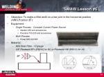 smaw lesson 6