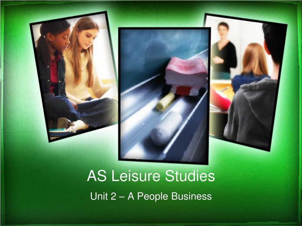 as leisure studies l.