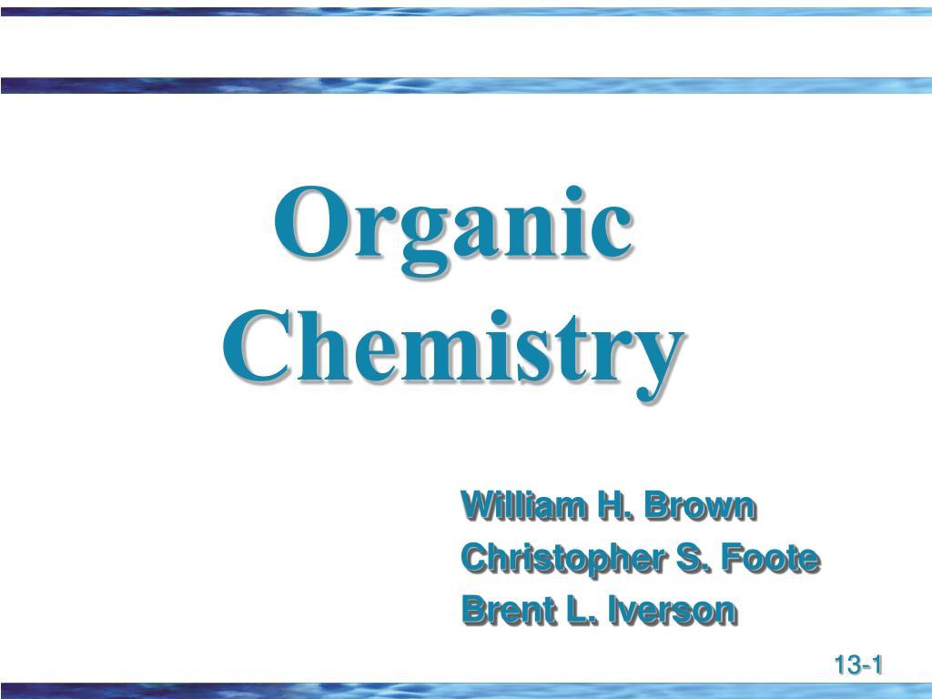 organic chemistry l.