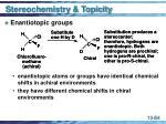 stereochemistry topicity54