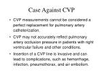 case against cvp