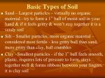 basic types of soil