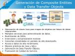 generaci n de composite entities y data transfer objects