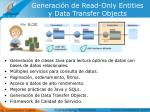generaci n de read only entities y data transfer objects