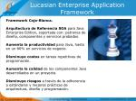 lucasian enterprise application framework