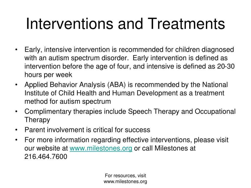 Interventions and Treatments