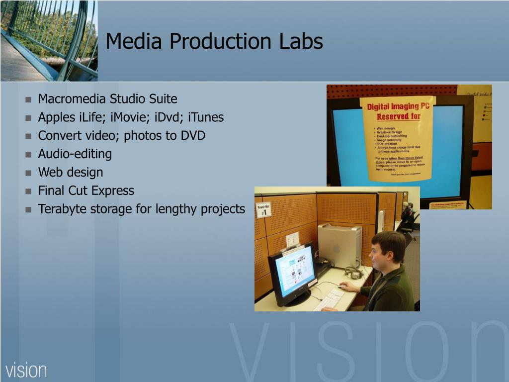 Media Production Labs