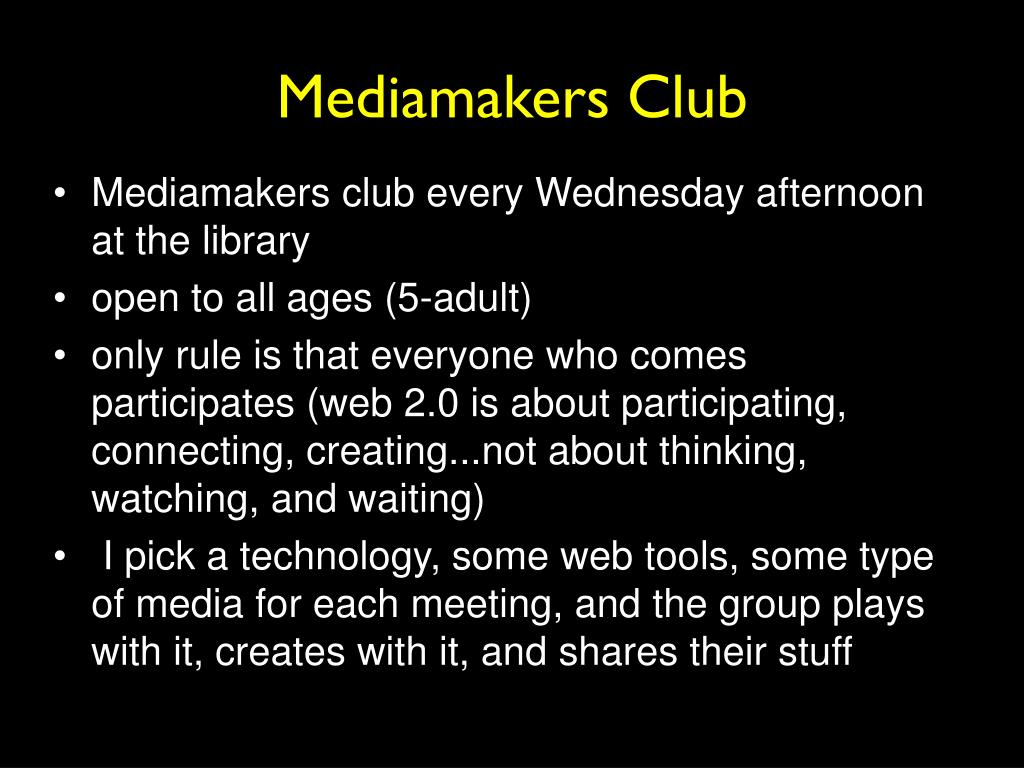 Mediamakers Club
