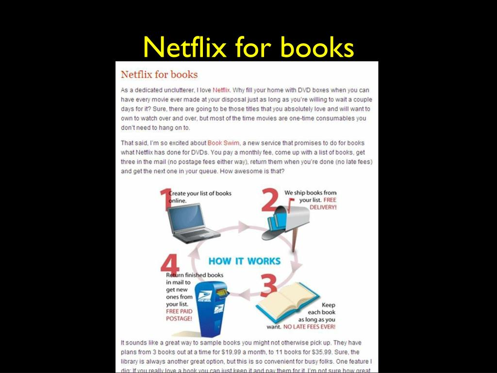 Netflix for books