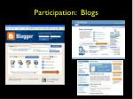 participation blogs
