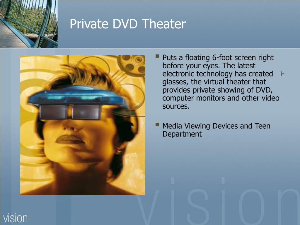 Private DVD Theater