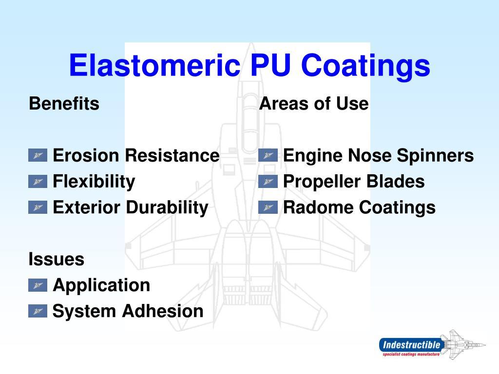 Elastomeric PU Coatings