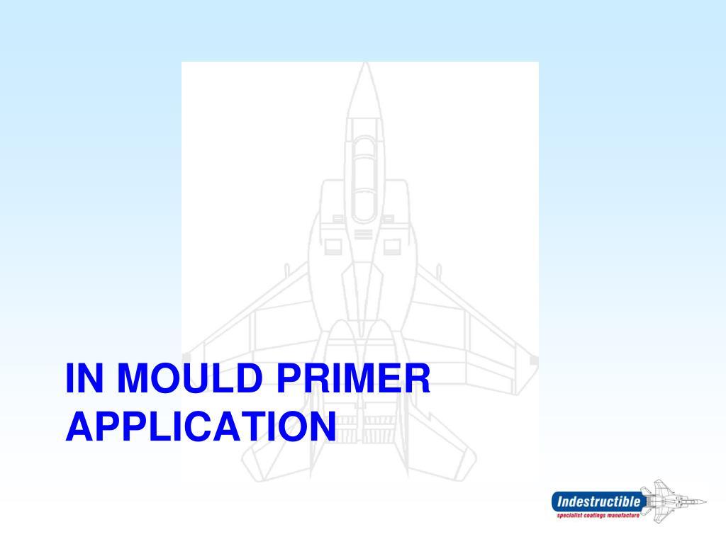 In mould primer application