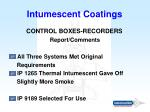 intumescent coatings35