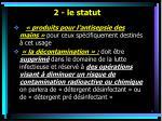 2 le statut9