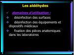les ald hydes68