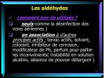 les ald hydes69