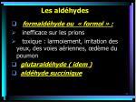 les ald hydes71