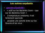 les autres oxydants38