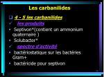 les carbanilides