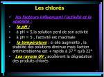 les chlor s